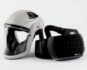 Versaflo™ M-107 arcvédő 3M™ Adflo™ légzésvédővel